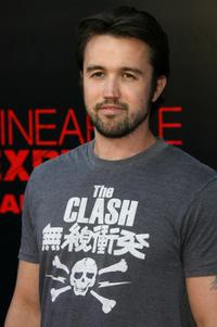 Rob McElhenney at the premiere of