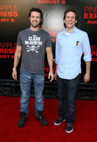 """Rob McElhenney at the premiere of """"Pineapple Express."""""""