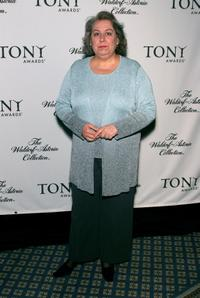 Jayne Houdyshell at the Tony Awards.