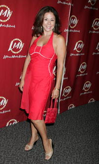 """Patricia Rae at the world premiere of """"Little Girl Lost: The Delimar Vera Story."""""""