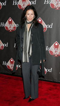 Patricia Rae at the HollywoodPoker.com's first year anniversary party.