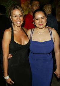 Patricia Rae and Yenny Paola Vega at the after party of
