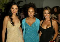 Catalina Sandino Moreno, Lynn Whitfield and Patricia Rae at the after party of