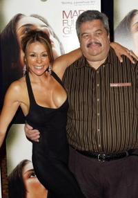Patricia Rae and Orlando Tobon at the premiere of