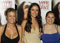 Patricia Rae, Catalina Sandino Moreno and Yenny Paola Vega at the premiere of