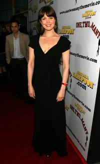 Bellamy Young at the premiere of