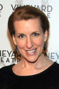 Susan Blackwell at the Off-Broadway opening night of Zach Helm's