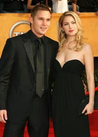 Brian Geraghty and Laura Ramsey at the 13th Annual Screen Actors Guild Awards.