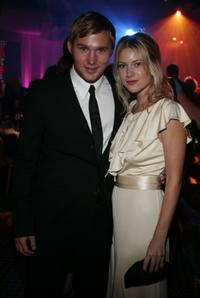 Brian Geraghty and Laura Ramsey at the after party of the world premiere of