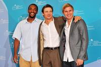 Anthony Mackie, Jeremy Renner and Brian Geraghty at the photocall of