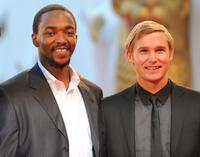 Anthony Mackie and Brian Geraghty at the screening of