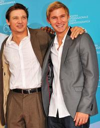 Jeremy Renner and Brian Geraghty at the photocall of