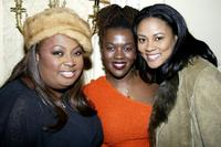 Star Jones, Heather Alicia Simms and Lela Rochon at the Opening Night Party for their Broadway Play