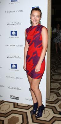Leighton Meester at the screening of