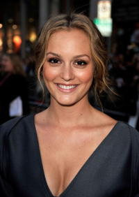 Leighton Meester at the premiere of