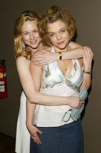 Laura Linney and Ana Reeder at the after party of the Opening night of