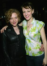 Ana Reeder and Rosemarie DeWitt at the after party of the Opening night of
