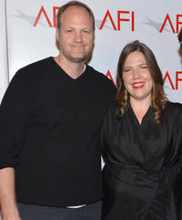 Blake Robbins and director Jane Pickett at the 2012 AFI Women Directors Showcase in California.