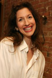 Alysia Reiner at the Our Time Theatre Companys 2nd Annual Benefit Gala.