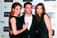 Debra Messing, David Alan Basche and Alysia Reiner at the LOVE benefit to support WET's 10th season.