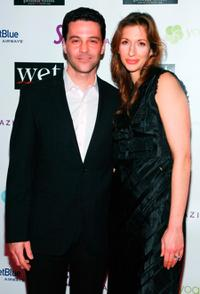 David Alan Basche and Alysia Reiner at the LOVE benefit to support WET's 10th season.