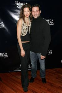 Alysia Reiner and David Alan Basche at the Tribeca Cinema Series presentation screening of