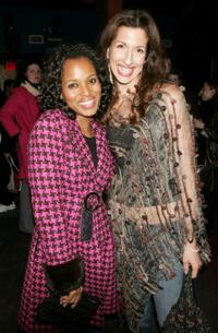 Kerry Washington and Alysia Reiner at the after party of the premiere of