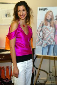 Alysia Reiner at the Style 2005 Golden Globe Retreat.