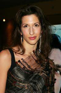 Alysia Reiner at the premiere of