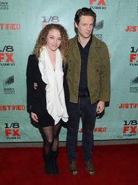 Shelby Malone and Jacob Pitts at the Season 4 California premiere of