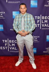 Michael Rivera at the New York premiere of