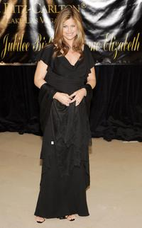 Kathy Ireland at the Dame Elizabeth Taylor's 75th birthday party.