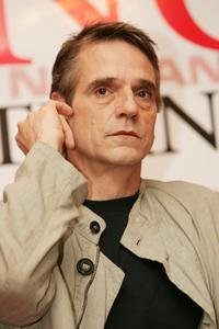 Jeremy Irons at the Bangkok International Film Festival.