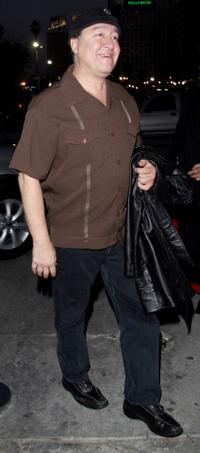 Dom Irrera at the Los Angeles Magazine's Comedy issue party.