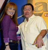 Kathy Griffin and Dom Irrera at the Variety's Night of Comedy.