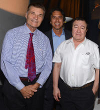 Fred Willard, Ray Romano and Dom Irrera at the International Myeloma Foundation's 6th Annual Comedy Celebration.