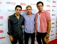 Michael Godere, Brian Geraghty and Ivan Martin at the red carpet of