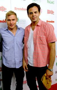 Brian Geraghty and Ivan Martin at the red carpet of