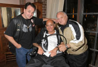 Kevin Lubic, Philip Carlo and Joe Rigano at the book release party for
