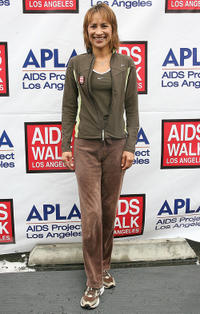 Michelle Bonilla at the 26th Annual AIDS Walk Los Angeles.