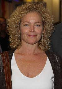Amy Irving at the New York opening nigt of