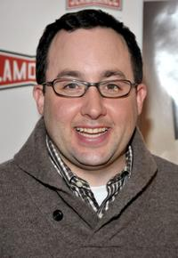 P. J. Byrne at the premiere of