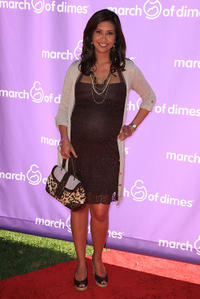 Maria Quiban at the 5th Annual March of Dimes celebration of babies luncheon in California.