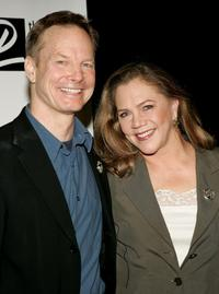Bill Irwin and Kathleen Turner at the 71st Annual Drama League Awards Luncheon.