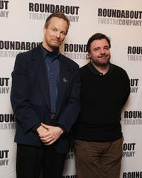 Bill Irwin and Nathan Lane at the photocall of