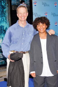 Bill Irwin and his son Santos at the premiere of