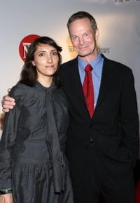 Producer Neda Armian and Bill Irwin at the after party of the premiere of
