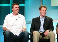 Neil Flynn and John C. McGinley at the ABC portion of the Television Critics Association Press Tour.
