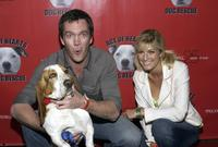 Neil Flynn and Sam Bell at the Hollywood Dog Bowl.
