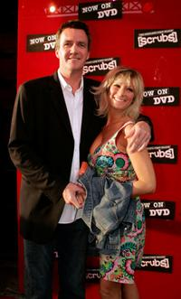 Neil Flynn and Guest at the DVD Launch Party for First Season of Scrubs.